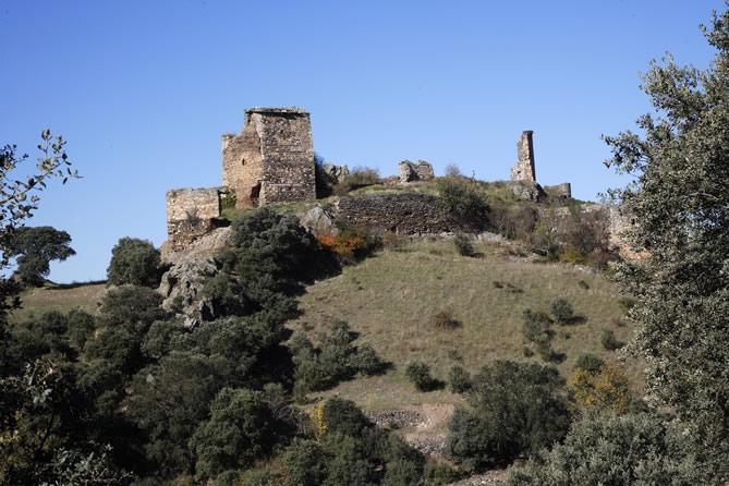 Castillo de Alba. Rutas del Quijote
