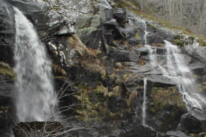 Cascada de Sotillo. Rutas del Quijote